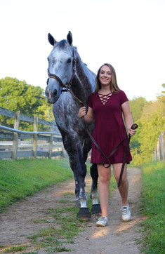 Amanda.Horse.walking to