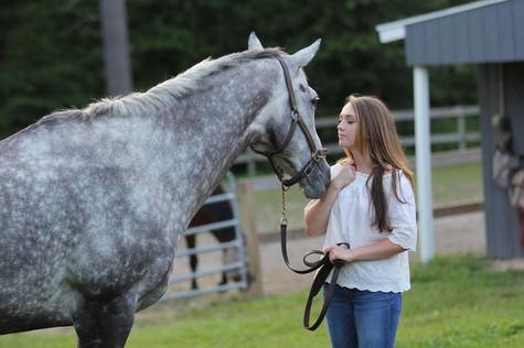 Amanda. Horse Talk