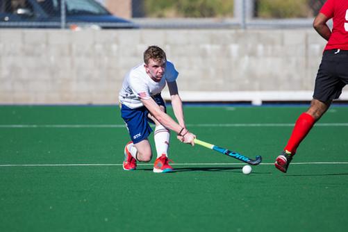 USA Men's Field Hockey - Colin low white
