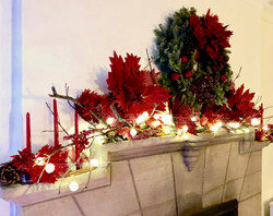 Holiday Mantel by GiGi