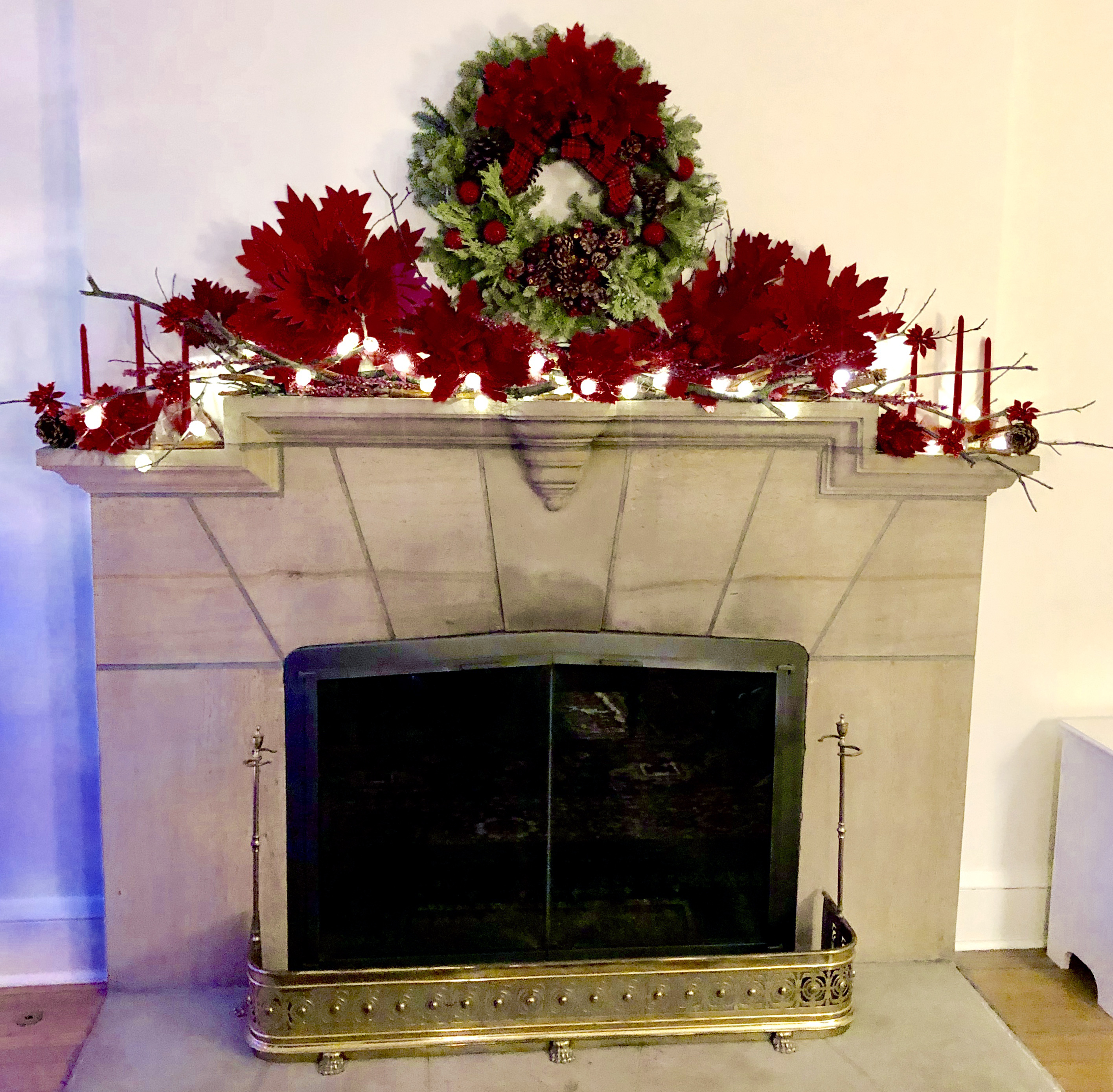 Mantel Design by GiGi