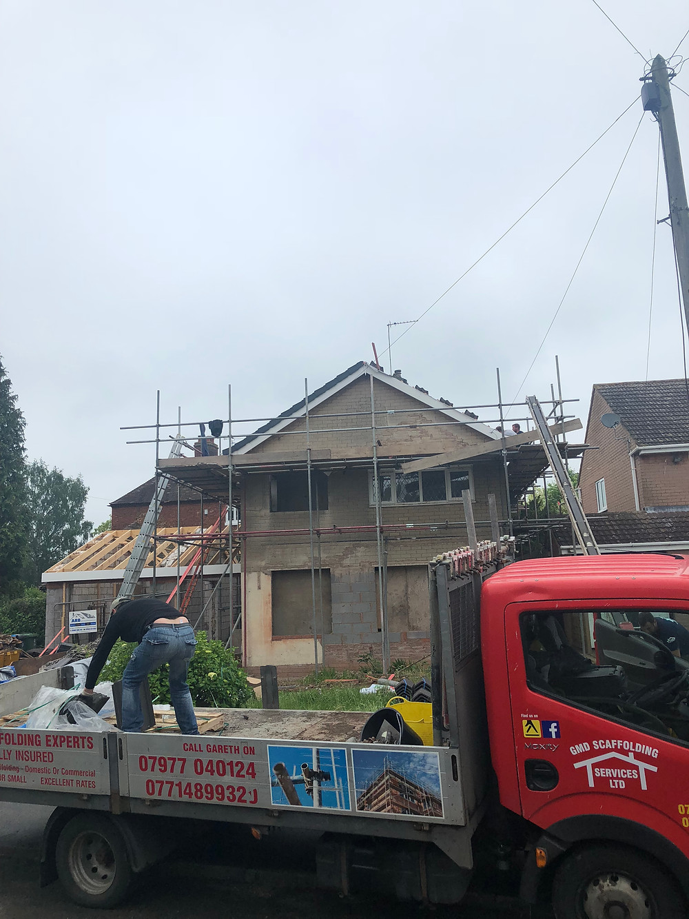 GMD Roofing & Scaffolding services. west midlands roofing experts