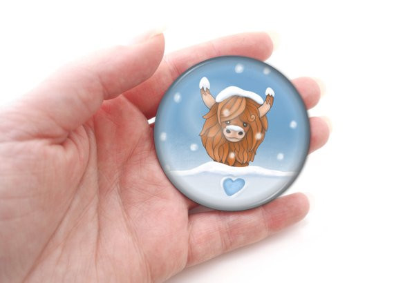 Riamelin Christmas Pocket Mirror