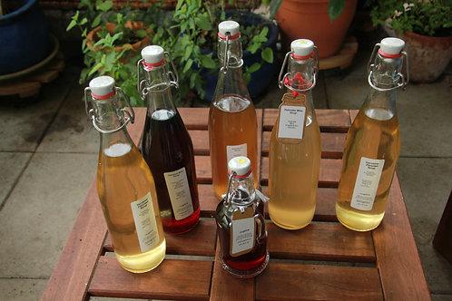 Ingwer - Zitronen Sirup