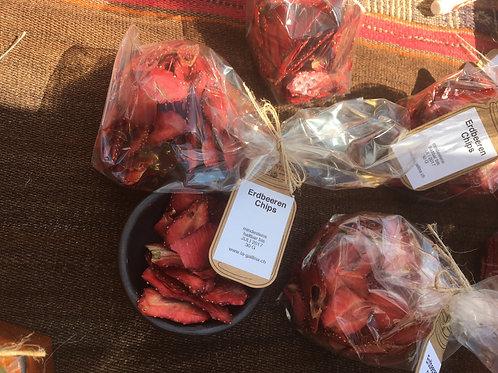 Erdbeerenchips
