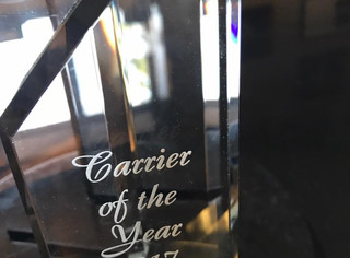 Kutzler Express is Awarded 2017 Carrier of the Year by S.C. Johnson