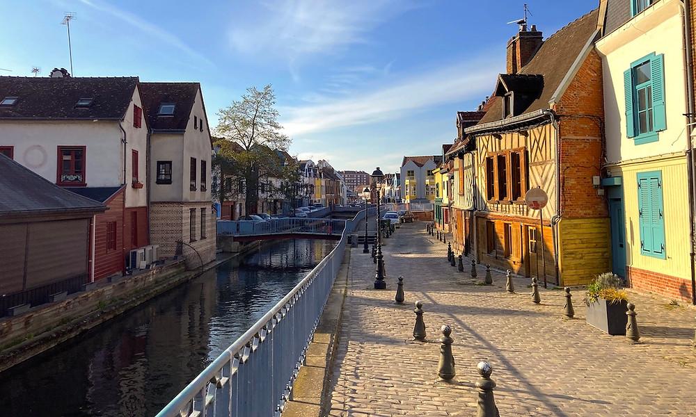 Quartier st-leu à Amiens