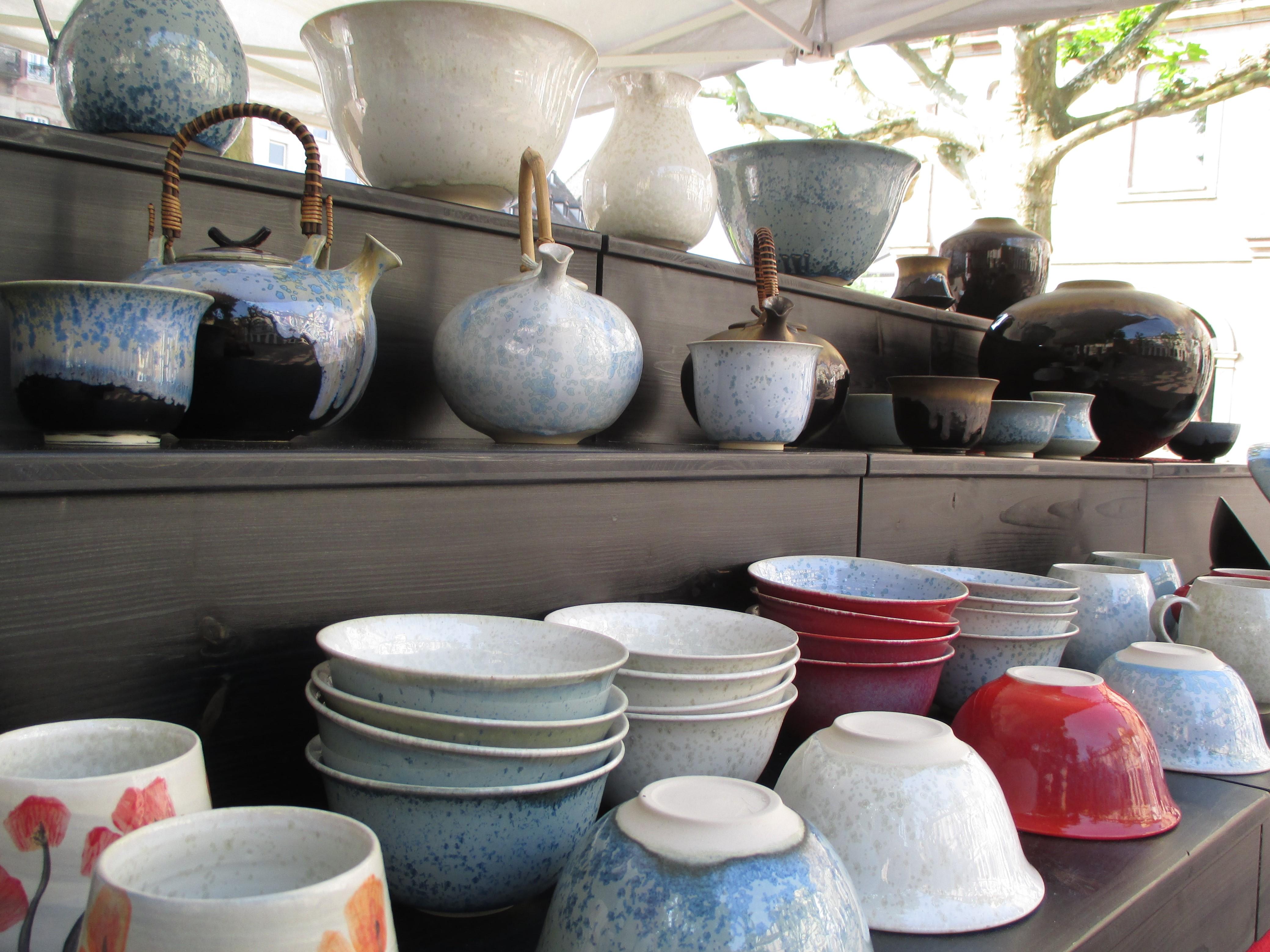 Stand de poteries