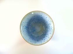 Bol céramique intérieur bleu