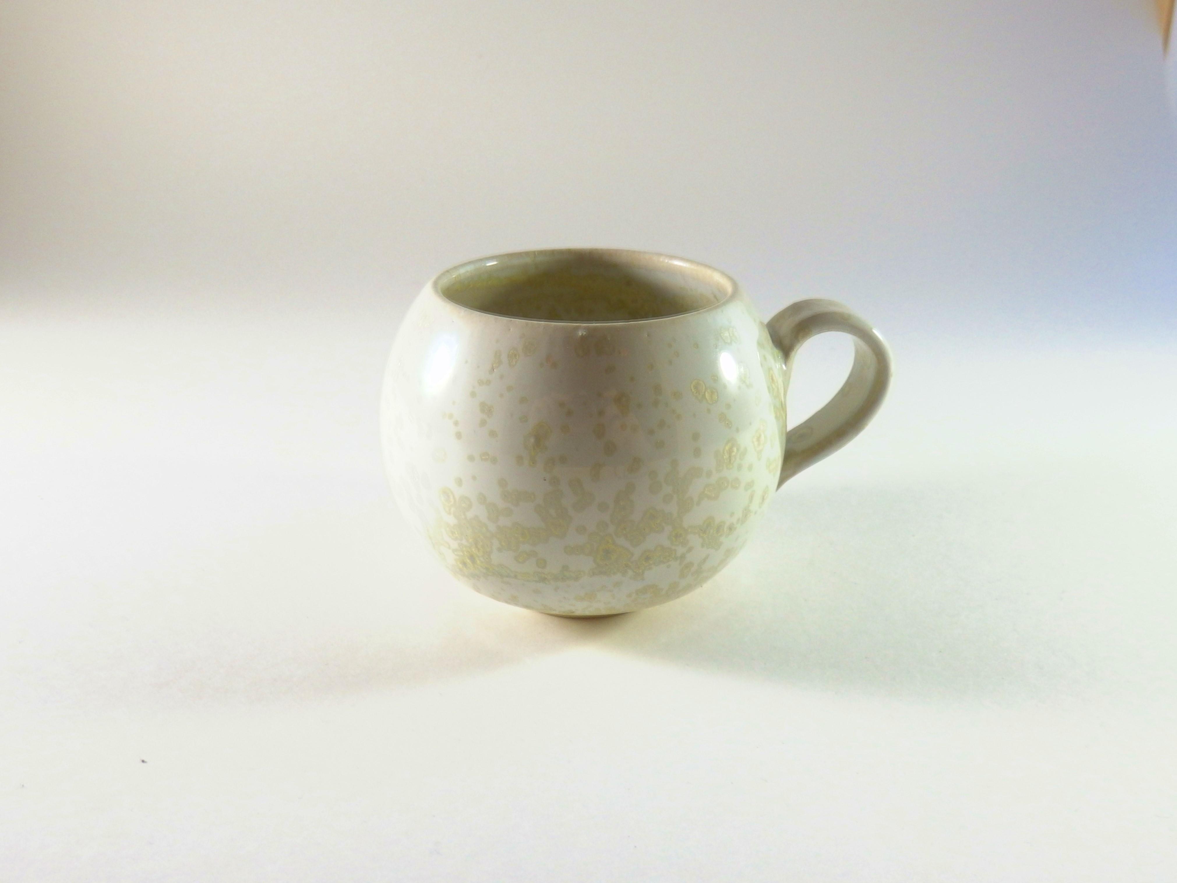 Petit Mug nacré blanc