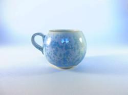 Petit mug nacré bleu