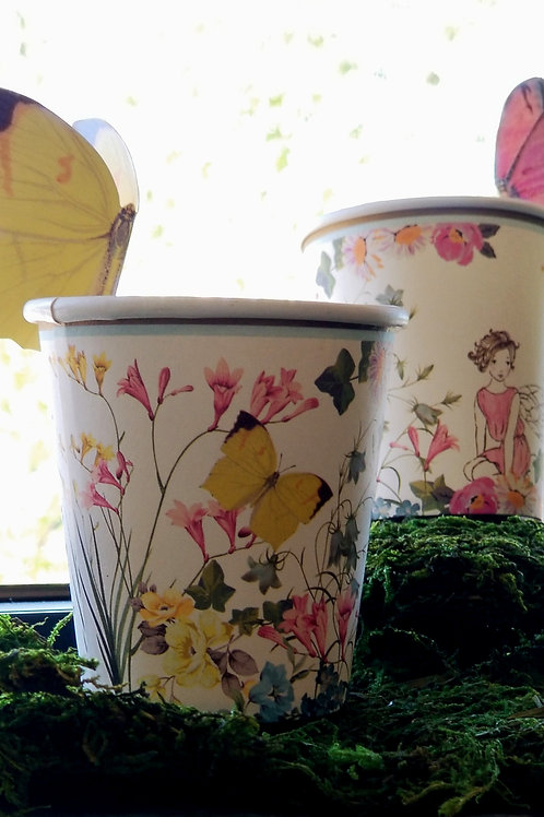 Fairy Themed Paper Cups (12 count)