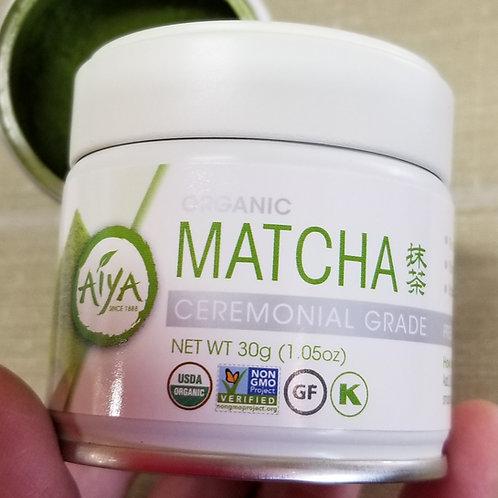 Organic Ceremonial-grade Matcha 30gm tin