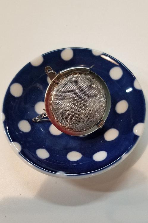 Small Plate- Polka Dots