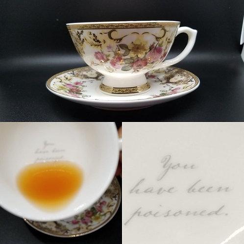 Toxic Tea Cup & Saucer