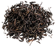 Black loose leaf tea dry