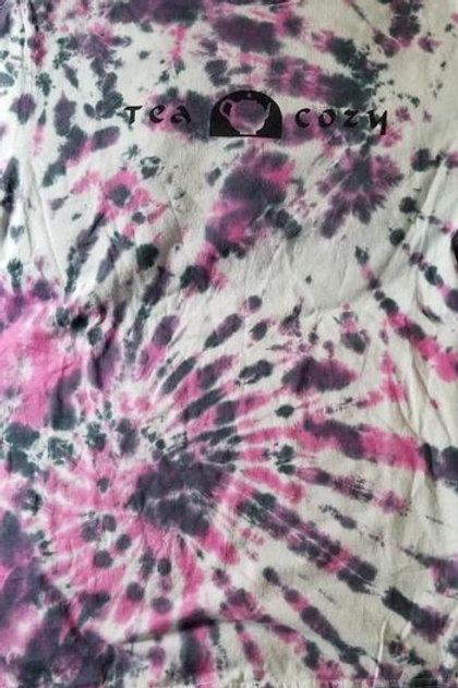 Tie Dye Shirt: Dash of Panache Mens Small