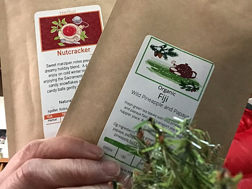 Sample Packs of Tea