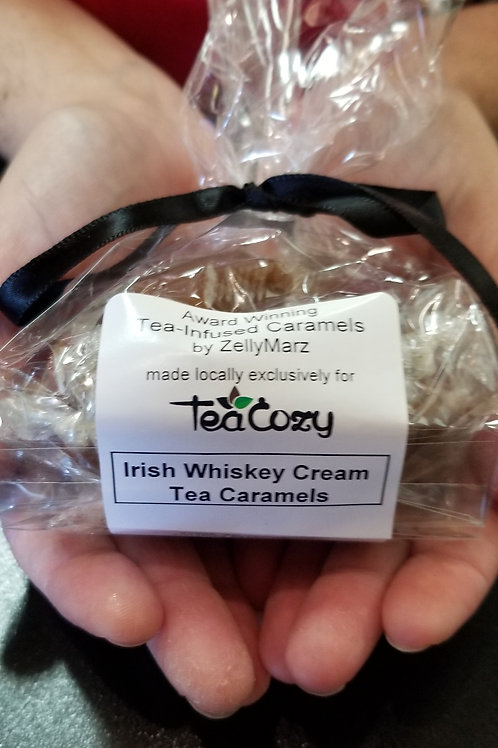 Tea infused Caramels 10 pcs