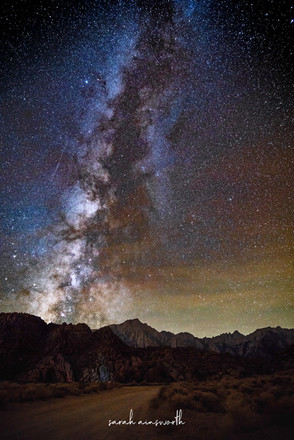 Milky Way Over Mt Whitney