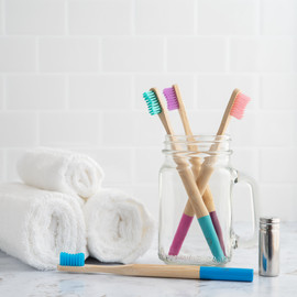 Bright Toothbrush Set for Coco Naturals