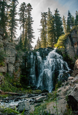 King's Creek Waterfall, Lassen NP