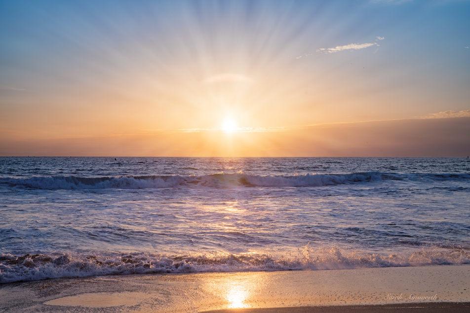 Blue & Gold Sunset