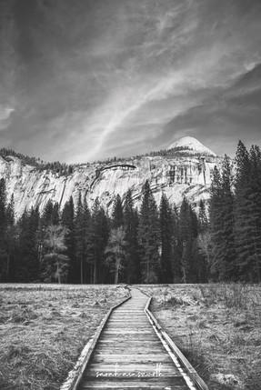 The Path into Yosemite
