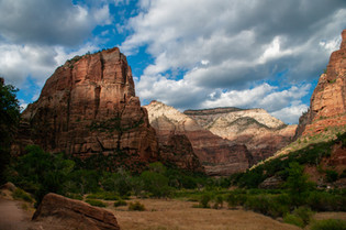 Heading for Angels Landing, Zion NP