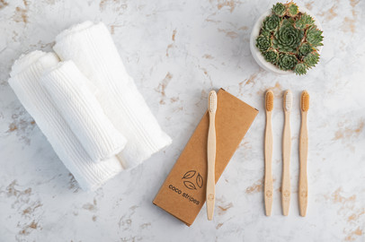 Neutral Toothbrushes from Coco Stripes