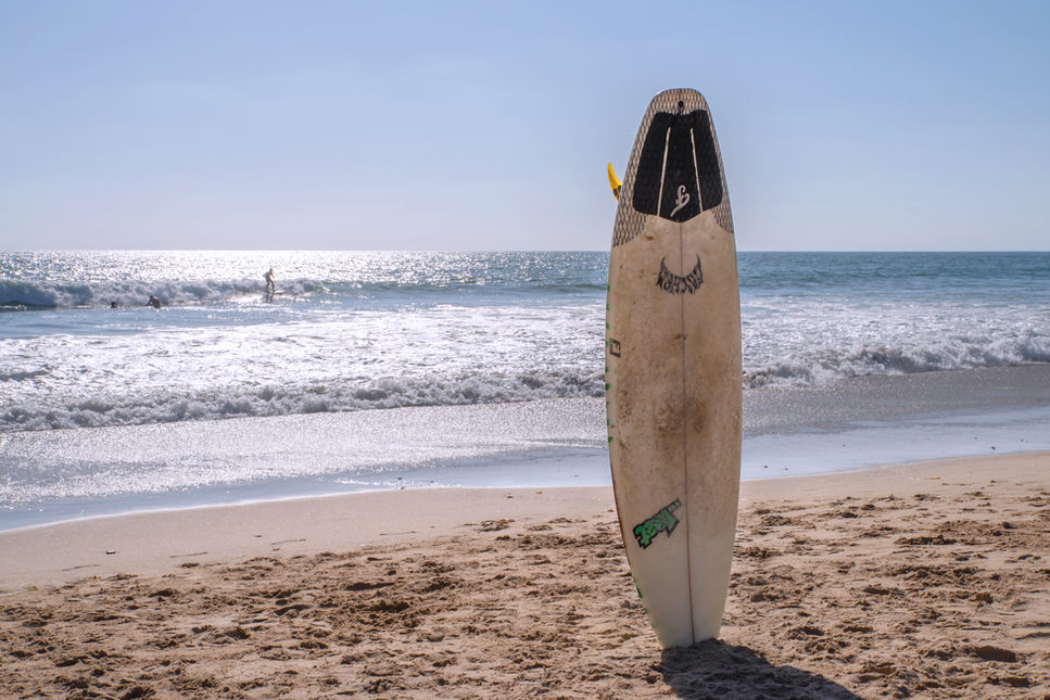 Surfboard Waiting for a Rider