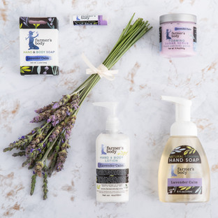 Farmer's Body Lavender Products