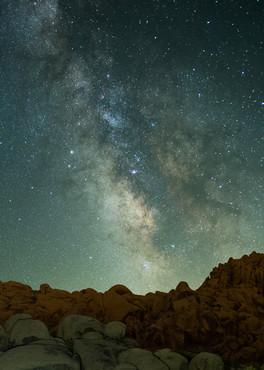 Milky Way Rising over Joshua Tree NP