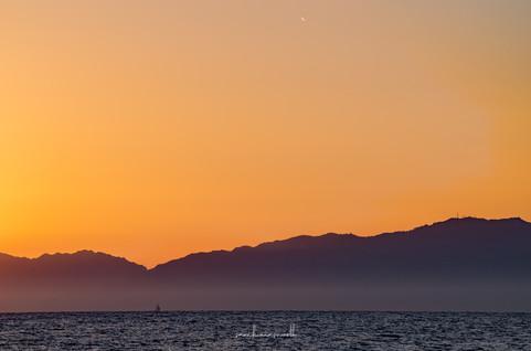 Comet Neowise over Malibu