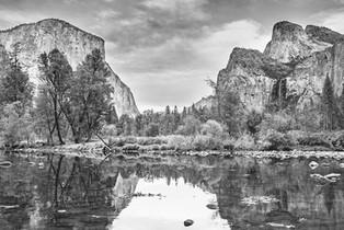 Yosemite Valley BW