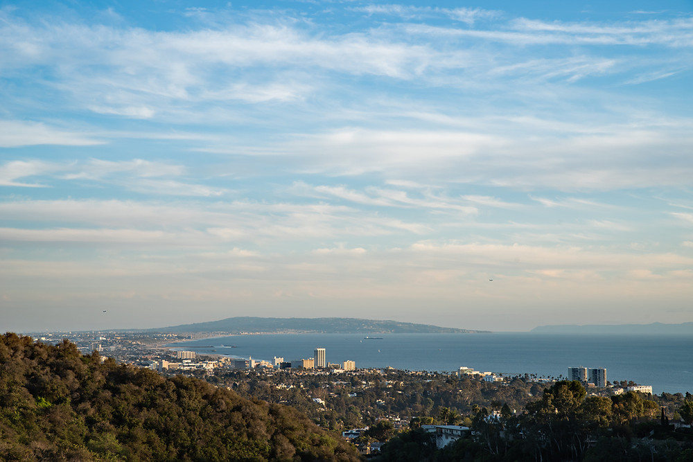Image showing the South Bay of Los Angeles from Santa Monica down to the coastal cliffs of Palos Verdes