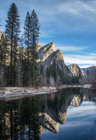 Three Brothers Reflection, Yosemite NP