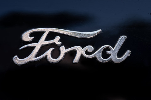 1940 Ford Logo 2 Door Coupe