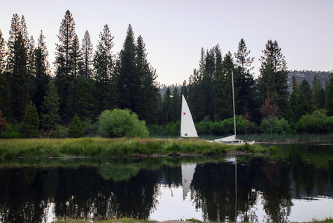 Serenity and a Sailboat
