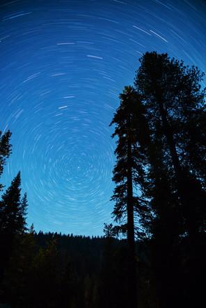 Star Trails over SEKI