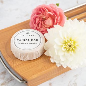 Facial Bar for Just Dandy