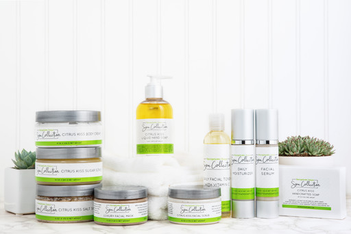Spa Collection for Georgetown Soaps