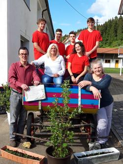 Team vor Kutsche 2020-05-29