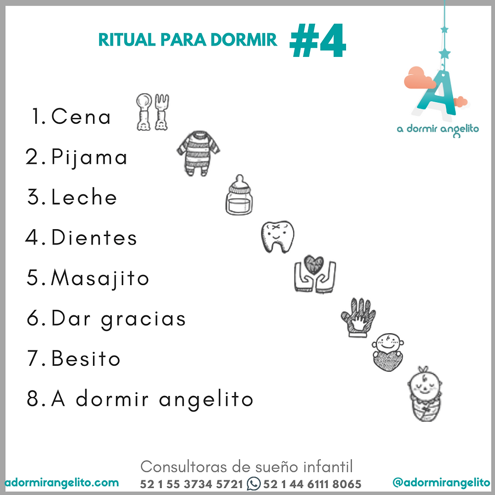 EL RITUAL PERFECTO PARA DORMIR A TU BEBE 4