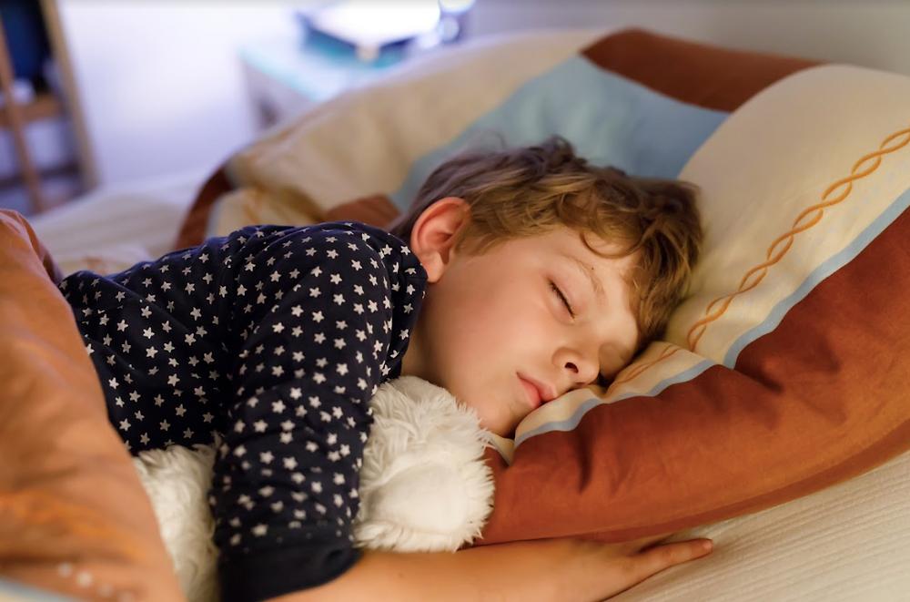 mi hijo volvió a dormir mal