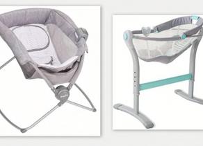 Mecedoras, bouncers y sillitas no son seguros para dormir a tu bebé