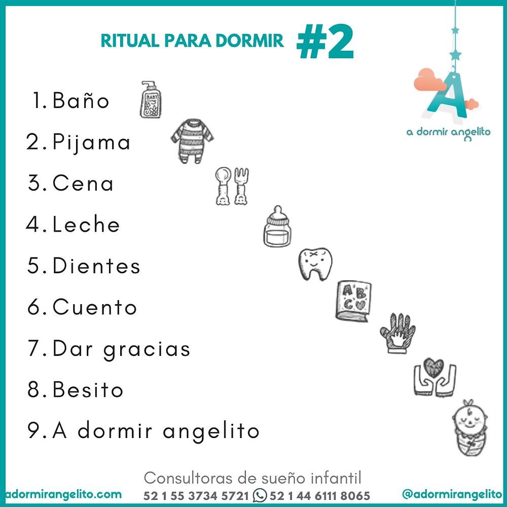 EL RITUAL PERFECTO PARA DORMIR A TU BEBE 2