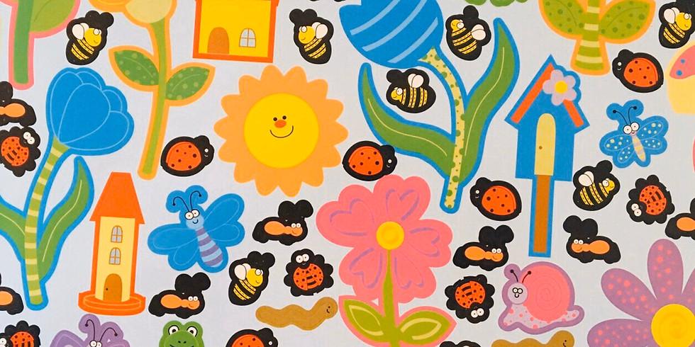 3/25〖0歳〗ららぽーと甲子園イベント 「親子deワクワク!Hello 春!貼ろう 春!」