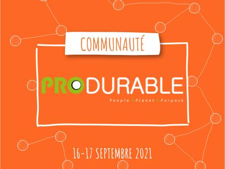 Communauté méthode Lance à Produrable Paris