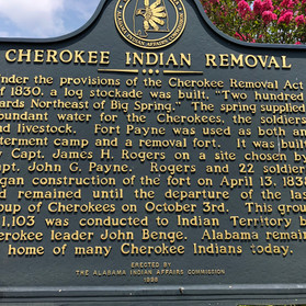 The Removal of Cherokees
